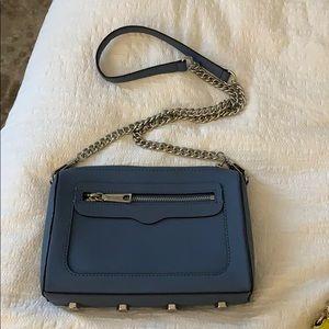 Rebecca minkoff blue satchel